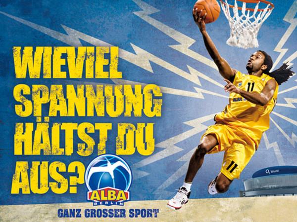 Kampagnen für ALBA Berlin Basketball