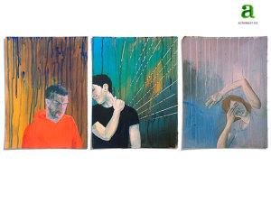 Malereien zum Thema Depressionen – Motiv 1-3